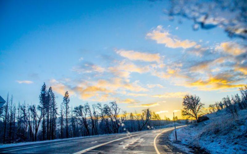Rennradtraining im Winter